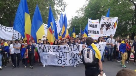 Manifestatie Chisinau