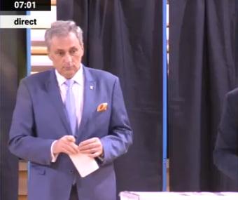 Marcel Vela a votat