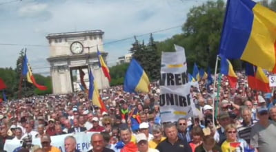 mars unire Chisinau