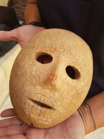 masca din piatra Israel