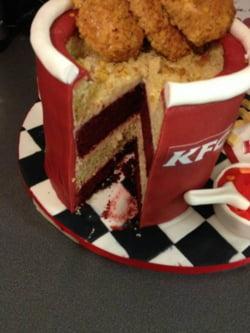 meniu KFC tort