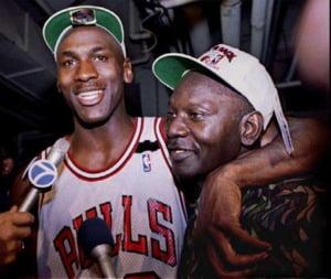 Michael Jordan tata