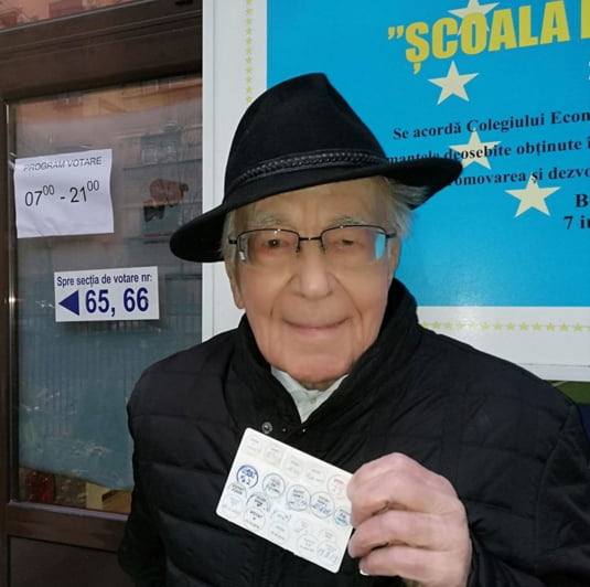 Mihai Sora a votat