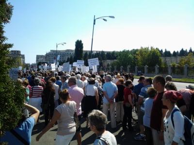 Miting antimaidanezi, in Parcul Izvor din Bucuresti