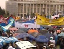 miting umbrele Bucuresti