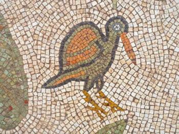 mozaicurile sunt viu colorate