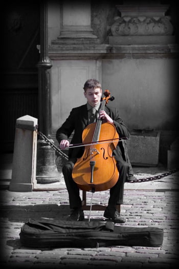muzicant biserica