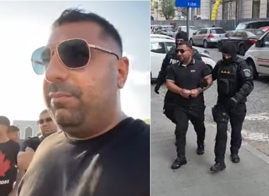 Nat Minca saltat de politie