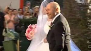 nunta Eleba Basescu rochie