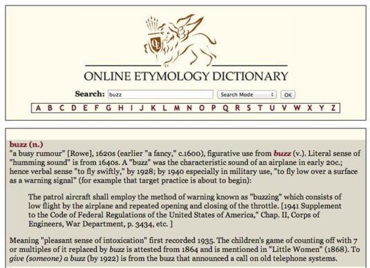 Online Etymology Dictionary
