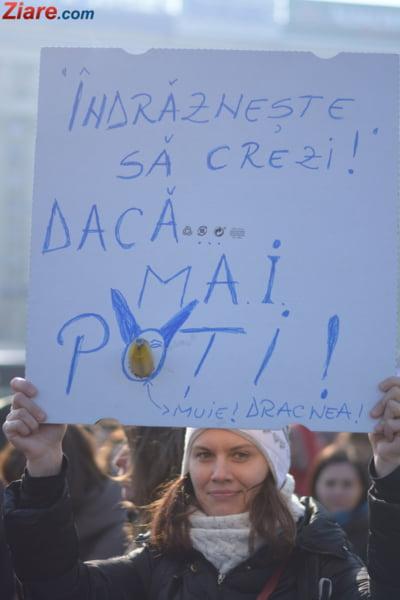 pancarte protest
