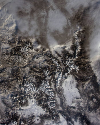 Parcul National Rocky Mountain spatiu