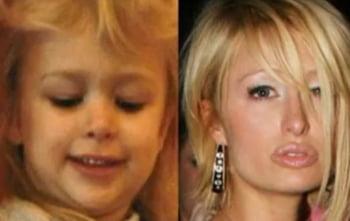 Paris Hilton copil infatisare