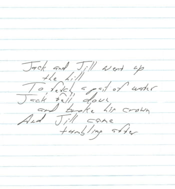 Personalitatea unui barbat, dezvaluita de scrisul de mana