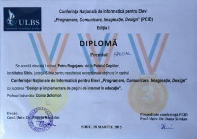 Petru Rogojanu premii
