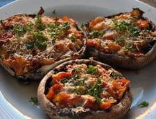 pizza in ciuperci
