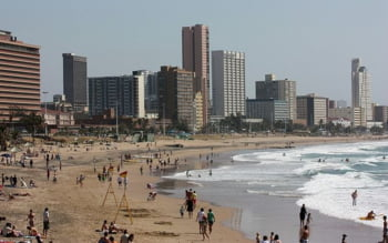 Plajele Durban Africa de Sud