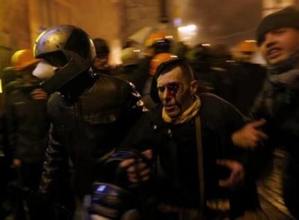 politisti raniti ucraina