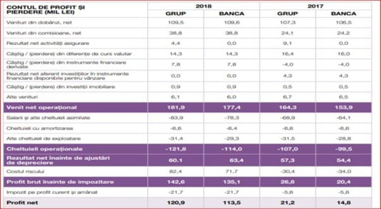 profit pierderi Eximbank