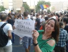 protest Rosia Montana Daciana Sarbu greva sexuala