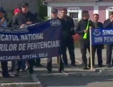 protest angajati penitenciare