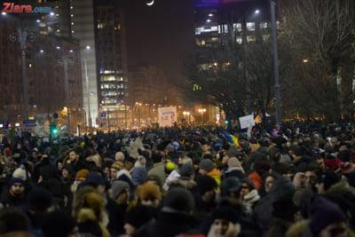 protest miercuri seara guvern