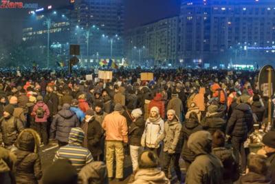 protest miercuri seara ziare