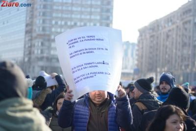 protest pancarte