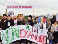 protest rosia montana paris