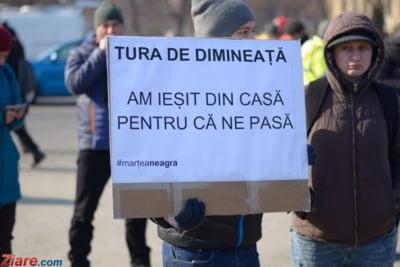 protest zi miercuri