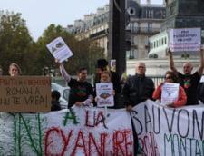 proteste Rosia Montana Paris