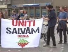 proteste Rosia Montana Timisoara