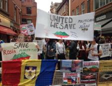 proteste Rosia Montana londra