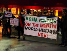 proteste paris rosia montana