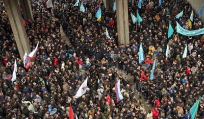 Proteste pro-ruse la Odessa