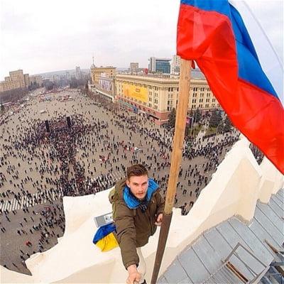 Proteste pro Rusia in Ucraina