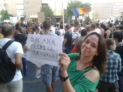 Proteste Rosia Montana Daciana Sarbu