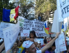proteste unoversitate Rosia Montana