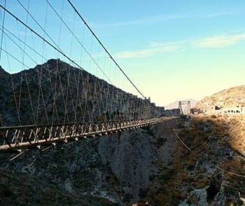 Puente de Ojuela Mexic pod