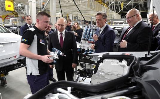 Putin Mercedes