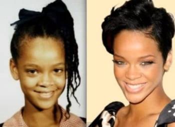 Rihanna adolescenta infatisare