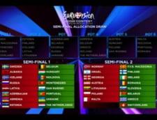 romania semifinala a doua eurovision