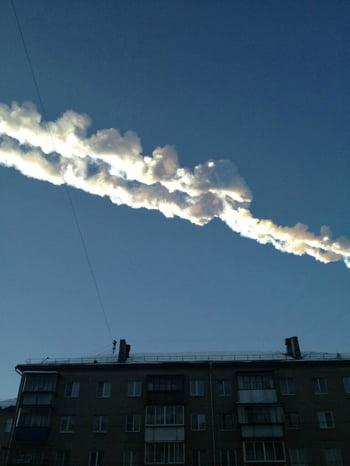 Rusia meteorit