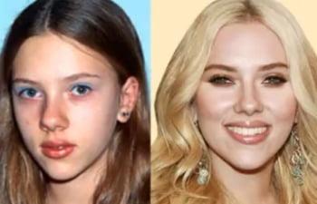 Scarlett Johansson copil infatisare