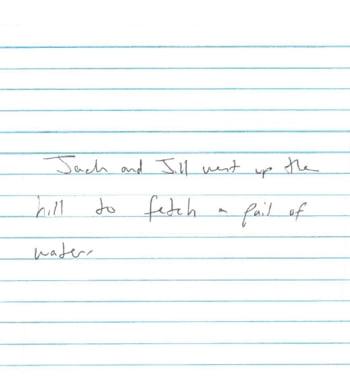 Scris de mana la barbati