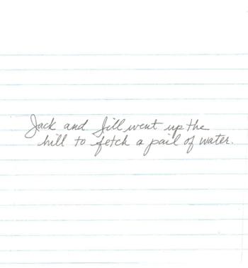 Scrisul de mana al femeii si personalitatea sa