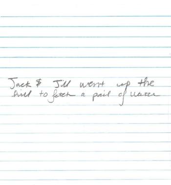 Scrisul de mana al unui barbat ii dezvaluie personalitatea