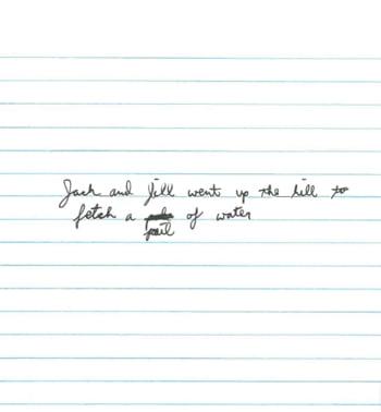Scrisul de mana al unui barbat si personalitatea sa