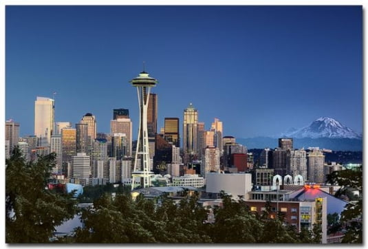 Seattle, Muntele Rainier, Statele Unite ale Americii