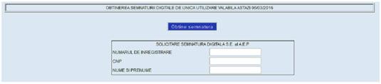 semnatura electronica vot online